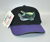 Tampa Bay Devil Rays Logo Athletic Vintage 90's Wool Snapback Cap Hat - NWT