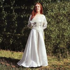 Elegant Medieval Brides Wedding Dress, Perfect Historical Outfit