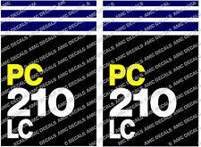 KOMATSU PC210 Digger decals