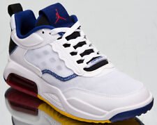 Jordan Max 200 Men's White Yellow Blue Black Athletic Lifestyle Sneakers Shoes
