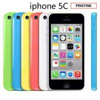 Apple iPhone 5C 8GB 16GB 32GB White Blue Green Pink Yellow Unlocked Pristine