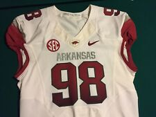 Arkansas Razorbacks Game Worn Jersey NIKE Size48  #98 - BILLS