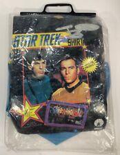 Vintage Rubies 15200 Halloween Costume Star Trek Mr. Spock Size Medium New Blue