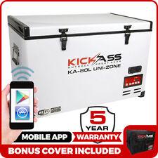 KickAss 80L 12V Portable Camping Fridge / Freezer 4WD + iPhone App EvaKool