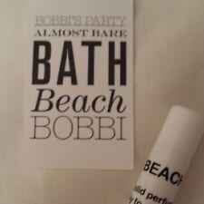 Perfume Stick 0.15 oz Beach Bobbi Brown Type Beach Scent LASTING COPPERTONE