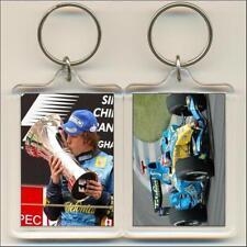 F1 Champions. 2005 Fernando Alonso. Keyring / Bag Tag.