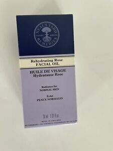 New Neals Yard Rehydrating Rose Facial Oil for Normal Skin 30ml BBE 11/22