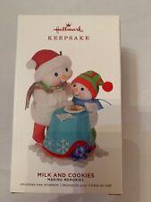 Hallmark Milk Cookies Snowman #12 Making Memories Series Keepsake Ornament 2019