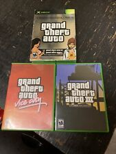 Rockstar Games Double Pack Grand Theft Auto Iii & Vice City Microsoft Xbox