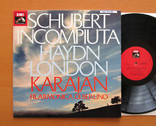 Karajan Schubert Unfinished Haydn London Symphony EMI 3C 065-02643 NEAR MINT