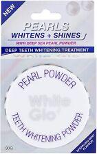 White Glo Pearl Teeth Whitening Powder 30g