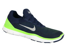 NIKE Free Trainer V7 NFL Cross Training Shoes sz 14 Blue Green Seattle Seahawks