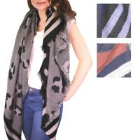 Leopard Blanket Wrap Shawl Warm Oversized Women's Scarf Animal Print Easter Gift