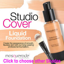 Studio Cover Liquid Foundation, Beige, 30ml. by Masquerade