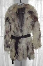 "VINTAGE 70's--GENUINE  CURLY LAMB FUR COAT SHEEPSKIN -GREAT CONDITION--32"" L"