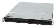 1HE Supermicro Server CSE-813M - X10SLM-F mit Intel E3-1231v3 - 8 GB RAM