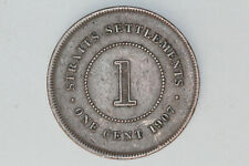 Straits Settlements - 1 cent 1907 (#28)