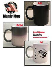 Coffee Eagle Magic Mug, Coffee Cup mug Heat Color Changing Cup Gift, Free Ship