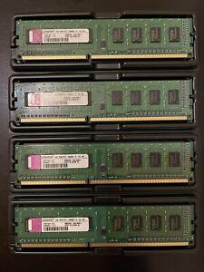 KTW149-ELF 4GB Kit (4 x 1GB) Kingston PC3-10600U Desktop Memory