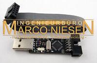 Programmieradapter / ISP Programmer USBasp für Atmel AVR ATmega, ATtiny, Arduino