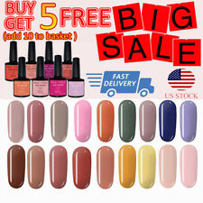 MES FEES Nail Polish Gel Shiny Soak Off UV/LED Lamp Manicure Nail Art 7ml