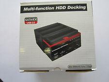 Multifunction External HDD Docking Station Dock for Data Transfer Backup