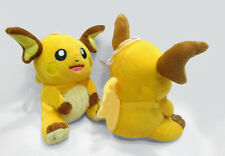 "Pokemon Game 7"" Raichu plush Soft Toy Pikachu Stuffed Animal plush Doll"