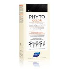 Phyto PHYTOCOLOR 1 Negro Coloración Permanente Natural Cabello Sani Color