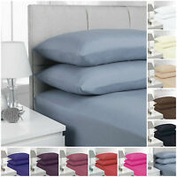 """EXTRA DEEP FITTED SIZE 16""""/40 CM PERCALE SINGLE, DOUBLE, KING, SUPER KING SHEET"""