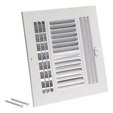 Ez-Flo 61619 Four-Way Sidewall-Ceiling Register