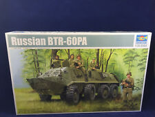 Trumpeter Russian BTR-60PA Personnel Carrier 1:35 Scale Plastic Model Kit 01543