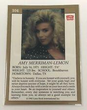 1992 Lime Rock Pro Cheerleaders Amy Merriman-Lemon #104