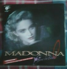 "MADONNA - 'Live To Tell' Japan White Vinyl 7"" in Picture Sleeve & Insert"