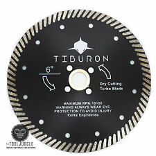 6 Inch  Diamond Turbo Saw Blade SUPER PERFORMANCE CUT Granite Stone Concrete