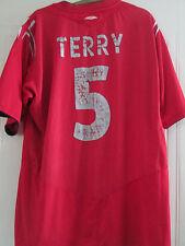 Inglaterra 2004-2006 Terry 5 Away Camiseta De Fútbol Para Adultos Extra Grande euro 2016 / 39632