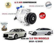 FOR AUDI A6 3.0 TDI + QUATTRO 2010-2015 NEW AC AIR CONDITION COMPRESSOR UNIT