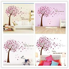 Large Wall Tree Baby Nursery Decal Flower Cherry Blossom Sticker Kids Wind New