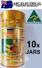 10x ROYAL JELLY 1450mg 365 soft gel capsules 100% Natural Australia Made COSTAR