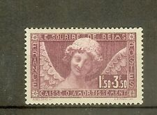 """FRANCE STAMP TIMBRE N° 256 """" C. A. ANGE AU SOURIRE REIMS 1930 """" NEUF xx TTB"""