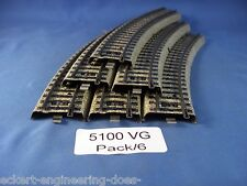 EE 5100 VG Very Good Marklin HO M Standard Curve Track Pk/6 Very Good Condition