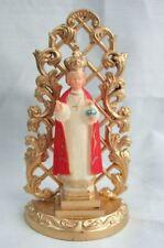 Vintage Catholic Shrine Infant Jesus of Prague Statue