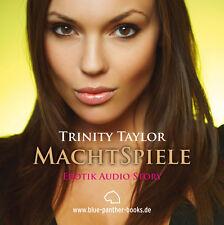 Mängelexemplar: MachtSpiele | Erotisches Hörbuch 1 CD von Trinity Taylor