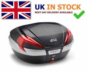 PIAGGIO MP3 500 2018 Sport TOP BOX complete GIVI V56NN CASE + SR5613 RACK + M5
