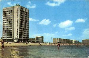 Mamaia Rumänien AK gut frankiert ~1960/70 gelaufen Hotelul Parc Park Hotel Meer