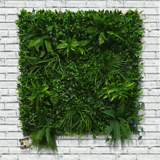 Artificial Green Living Wall Hedge Plant Panel In / Outdoor UV Stable 100x100cm