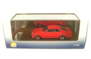 Mercedes-Benz AMG C126 6.0 Large Corps (Rouge) 1984-1985 (1:43)