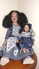 """25"""" WAITING FOR MOMMY (MOMMY & BABY) PORCELAIN DOLL BY DWI SAPTONO - #009/600"""