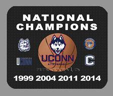 Item#397 Uconn Huskies Mens Basketball Championship Banner Mouse Pad