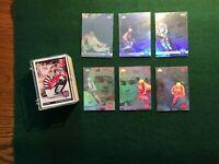 1992-93 Upper Deck NHL McDonalds All Star Fantasy 27 Hockey Cards & 6 Holograms