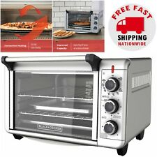 Countertop Convection Oven Pizza Toaster Cooking Baking Broiler Roasting Kitchen